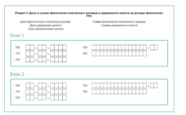 Особенности заполнения 2 части отчета