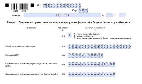 Отчет при реализации авто: особенности заполнения